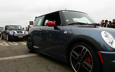 Mini takes the states cross country road trip event for Cross country motor club subaru