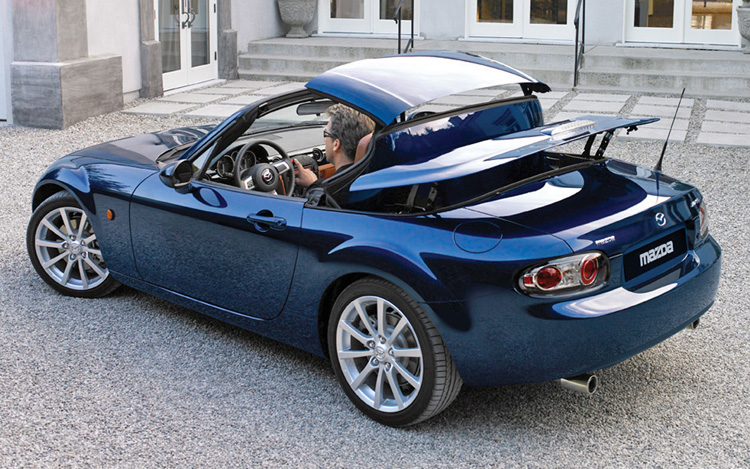 mazda mx 5 miata prht motor trend. Black Bedroom Furniture Sets. Home Design Ideas