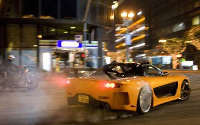 The Fast And The Furious Tokyo Drift Automotive Movie