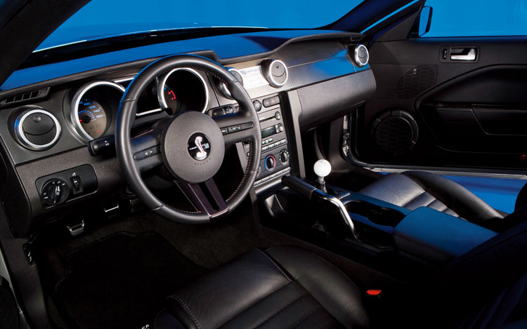 2008 ford shelby gt500kr first look motor trend. Black Bedroom Furniture Sets. Home Design Ideas