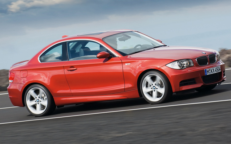 2008 bmw 1 series coupe revealed auto news motor trend for Is motor trend on demand worth it