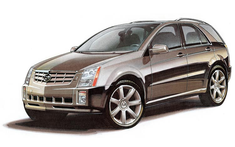 Cadillac Srx Set For 2011 Update