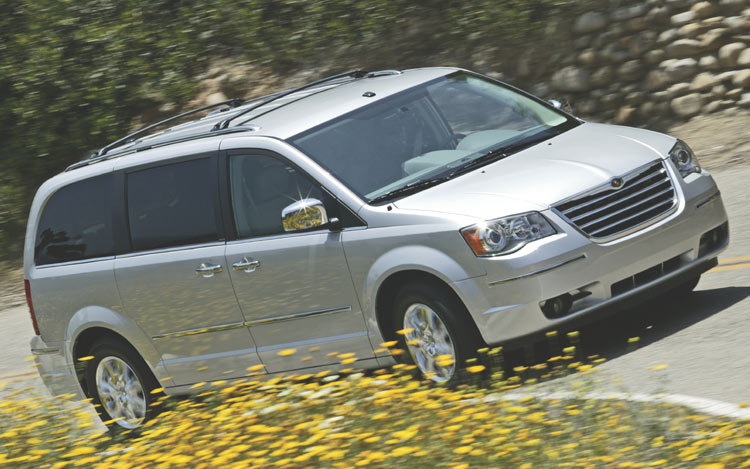 2008 dodge grand caravan first drive chrysler minivans. Black Bedroom Furniture Sets. Home Design Ideas