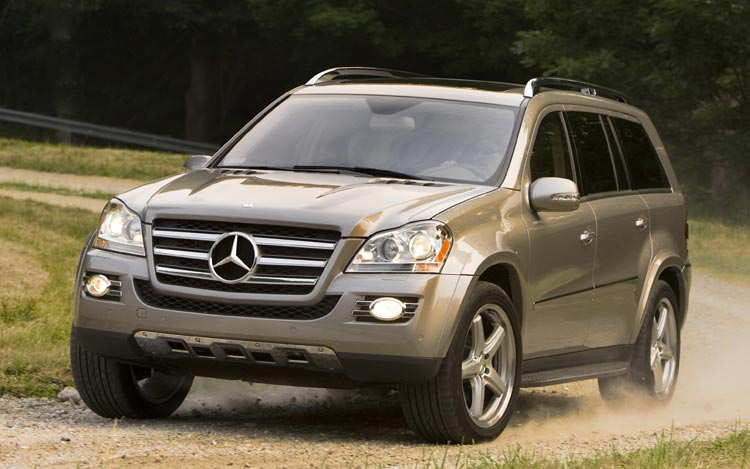 2008 mercedes benz gl550 photo gallery motor trend for Mercedes benz gl 2008