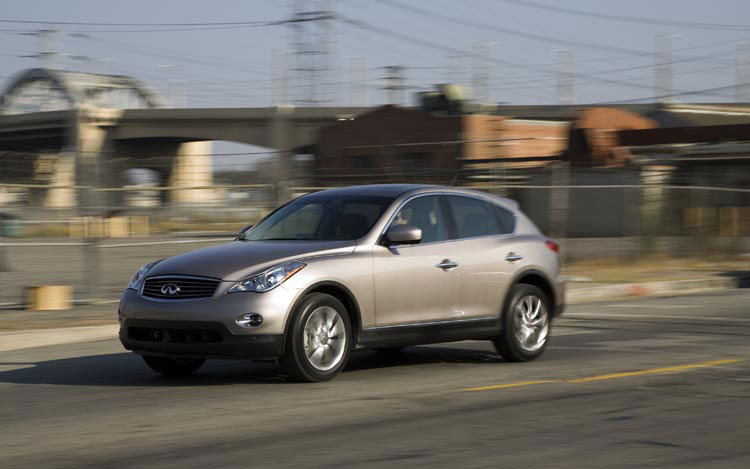 2008 infiniti ex35 first drive motor trend. Black Bedroom Furniture Sets. Home Design Ideas