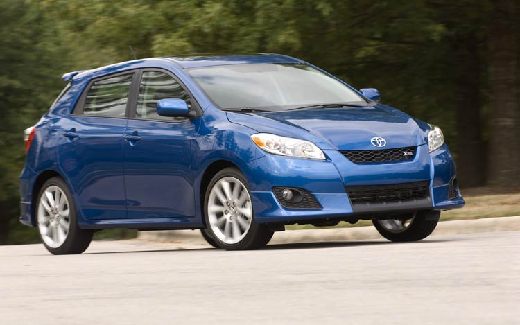 2009 toyota matrix photo gallery motor trend. Black Bedroom Furniture Sets. Home Design Ideas