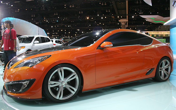 Hyundai Concept Genesis Coupe Photo Gallery Motor Trend