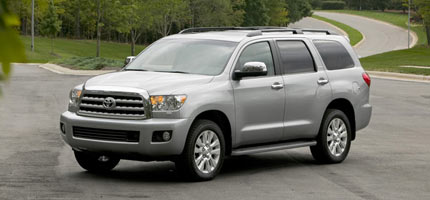 2008 toyota sequoia newcomers motor trend. Black Bedroom Furniture Sets. Home Design Ideas