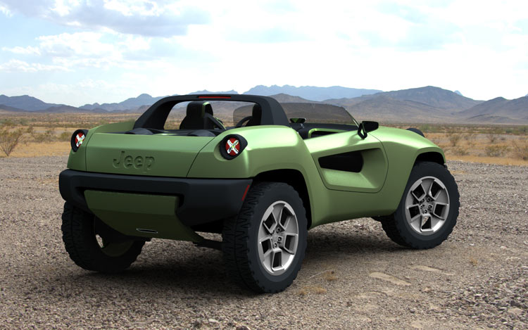 2008 jeep renegade concept photo gallery motor trend for Is motor trend on demand worth it