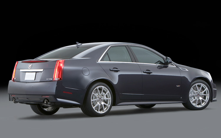 2009 Cadillac CTS-V - First Look - Motor Trend