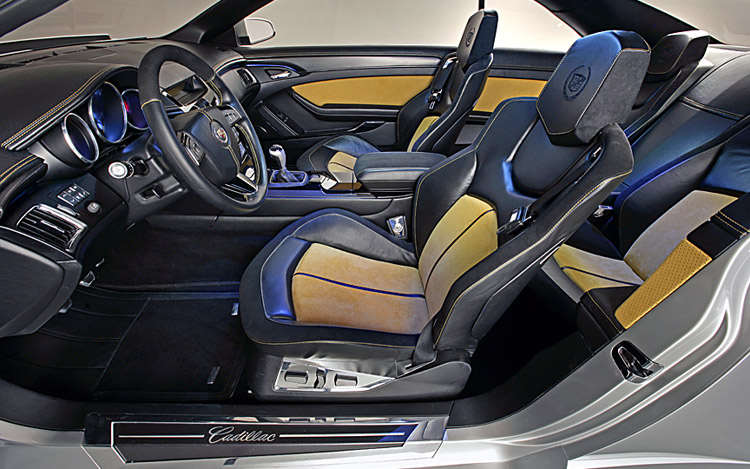 cadillac cts coupe concept first look motor trend. Black Bedroom Furniture Sets. Home Design Ideas