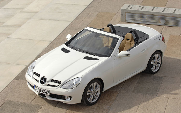 inventory wheel pre rear roadster convertible mercedes sport slk in benz drive certified used owned