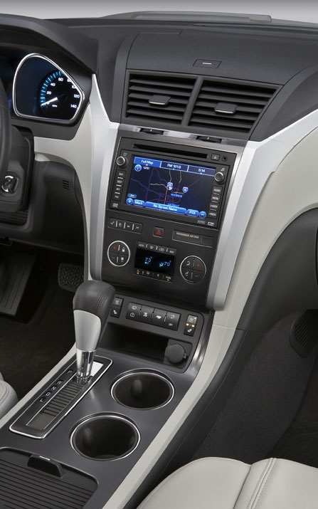 2009 Chevrolet Traverse Debuts At 2008 Chicago Show Auto