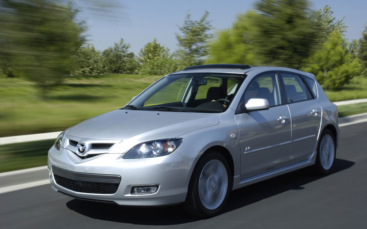 mazda updates prices 2008 mazda3 adds new trim level. Black Bedroom Furniture Sets. Home Design Ideas