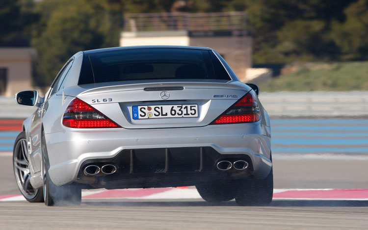 2009 Mercedes Benz Sl63 Amg Photo Gallery Motor Trend