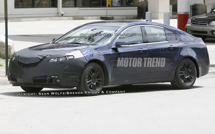 2009 Acura TL - Spied Vehicles - Motor Trend