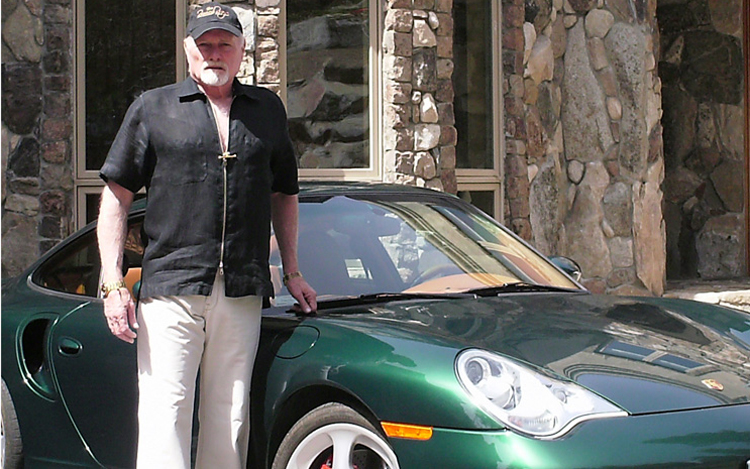 Voice Of The Beach Boys Mike Love Loves His Cars