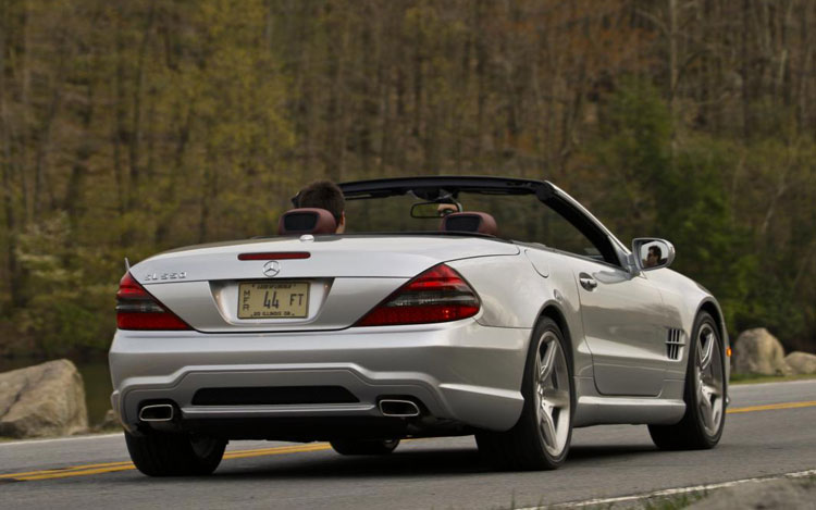 2008 9 Mercedes Benz Sl550 Comparison Gallery Motor Trend