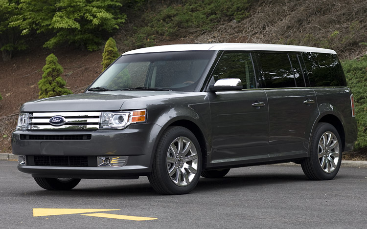 2009 ford flex first drive motor trend. Black Bedroom Furniture Sets. Home Design Ideas
