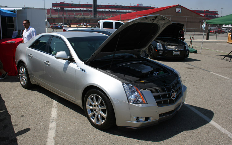 Z D Cadillac Cts Front Three Quarter View