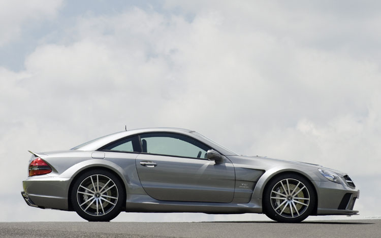 Mercedes sl65 amg black series engine