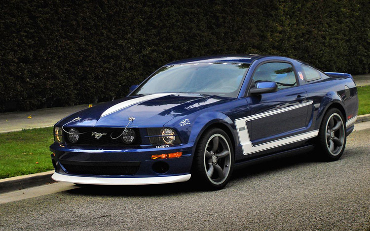 2008 gurney signature edition ford mustang first test motor trend. Black Bedroom Furniture Sets. Home Design Ideas