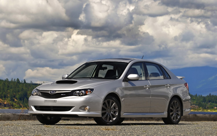 2009 subaru impreza wrx first drive motor trend. Black Bedroom Furniture Sets. Home Design Ideas