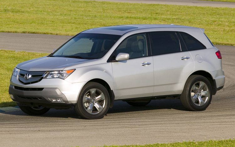 2009 acura mdx first look motor trend. Black Bedroom Furniture Sets. Home Design Ideas