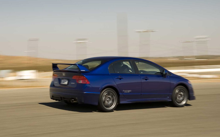 2008 Honda Civic Mugen Si Road Test Motor Trend