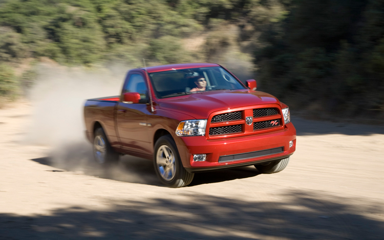 2009 dodge ram sport r t first test motor trend. Black Bedroom Furniture Sets. Home Design Ideas