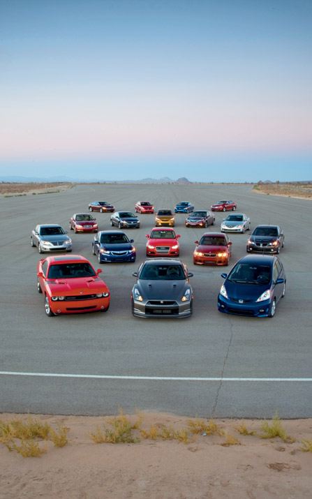 Introduction and contenders 2009 motor trend car of the for Motor trend truck of the year list
