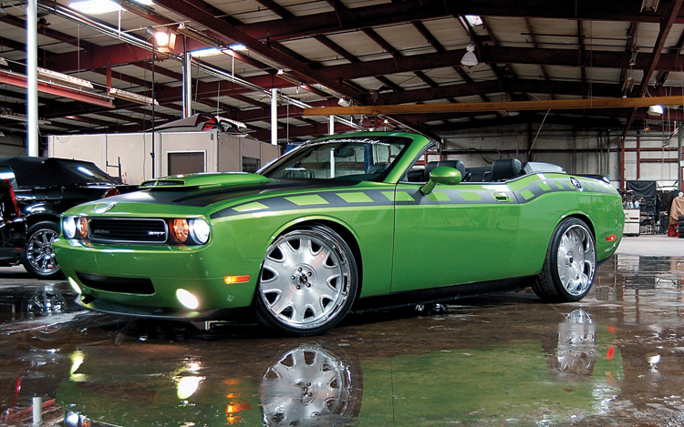 Dodge challenger convertible won 39 t be built chevrolet for Is motor trend on demand worth it