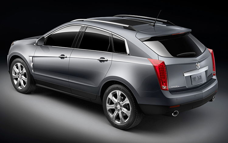 2010 Cadillac SRX - First Cadillac SRX official photos and details