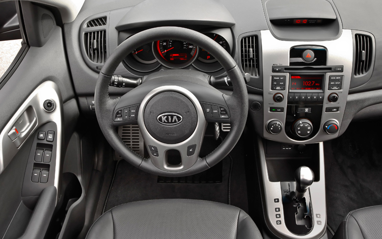 2010 kia forte first look motor trend for 2010 kia forte koup interior