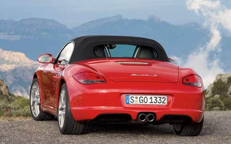 2009 porsche boxster first drive motor trend. Black Bedroom Furniture Sets. Home Design Ideas
