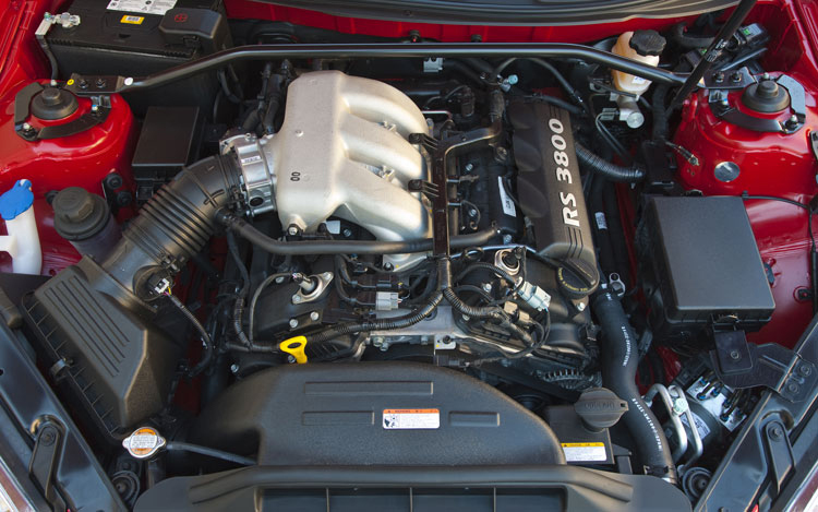 2010 hyundai genesis coupe 3 8 track first test of the hyundai genesis coupe motor trend - Hyundai genesis coupe engine ...