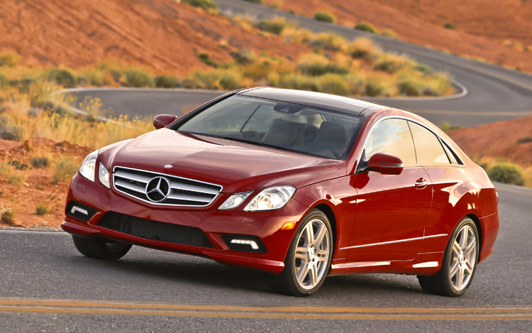 2010 mercedes benz e550 coupe first test motor trend for 2010 mercedes benz e550 coupe