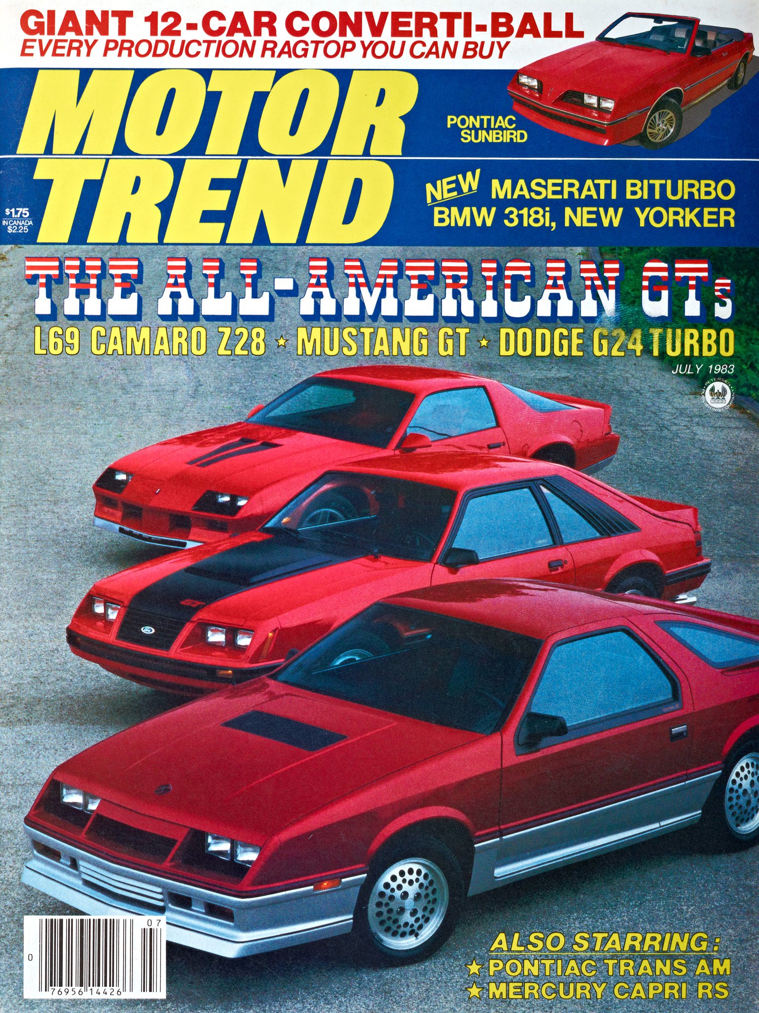 Article Covered Ford Mustang Motor Trend Covers From 1964 Present 1983 Gt Engine Overstockcom Cars