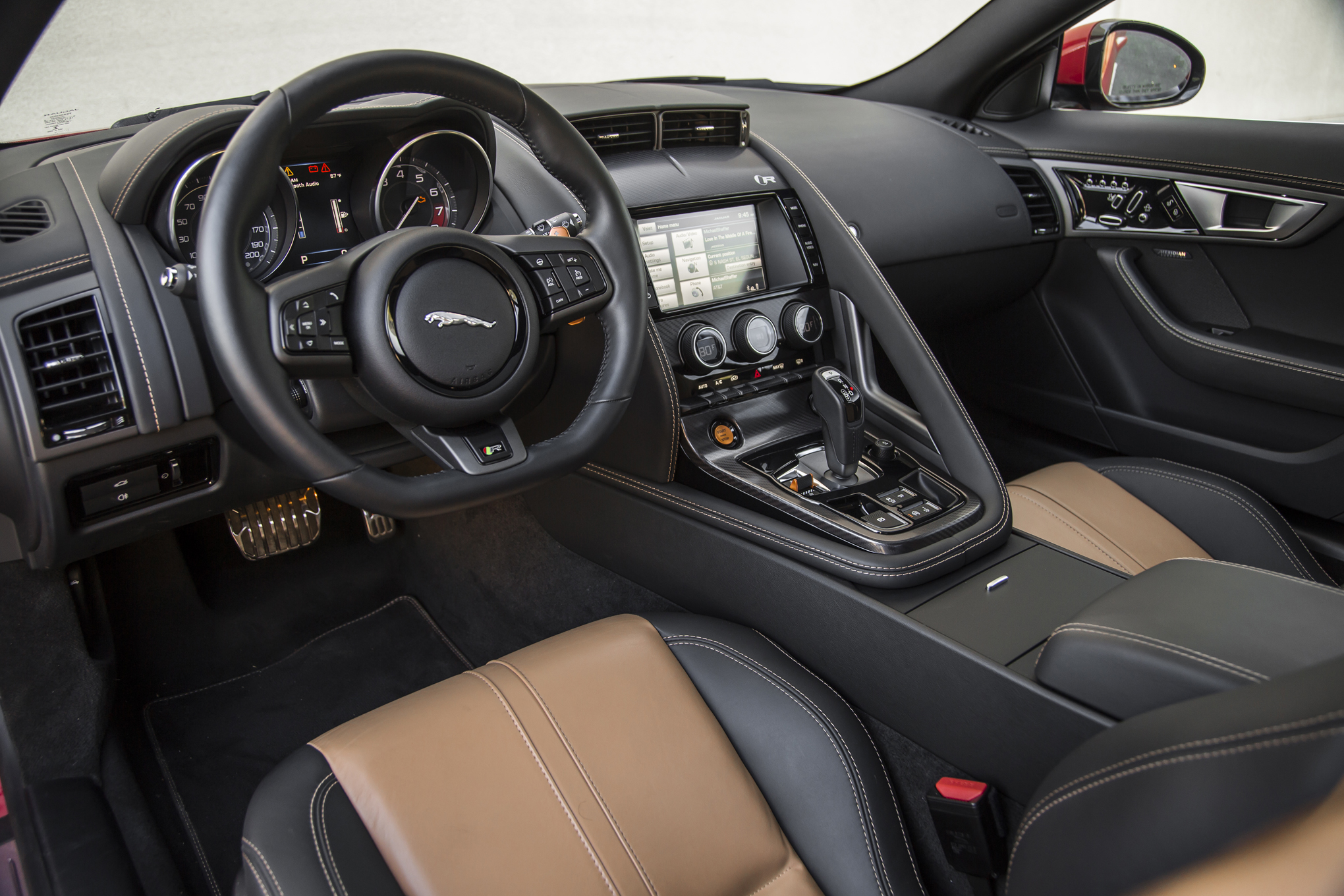 Jaguar F Type R Coupe Interior Images Galleries With A Bite