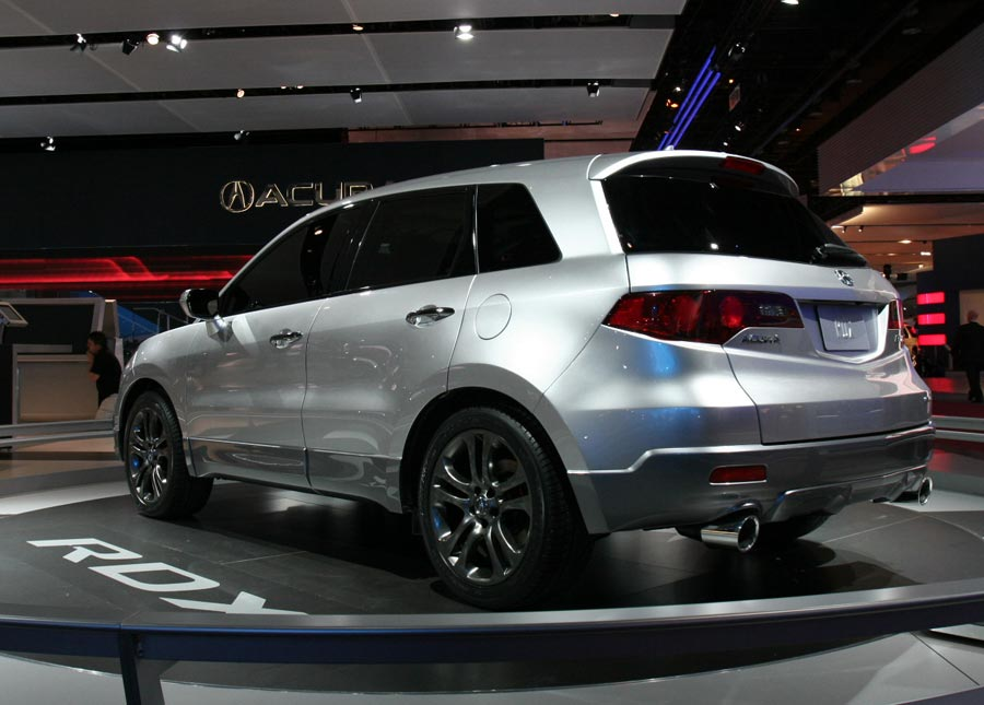 2008 Acura Rdx 2008 Amp 2009 Future Cars Sneak Preview