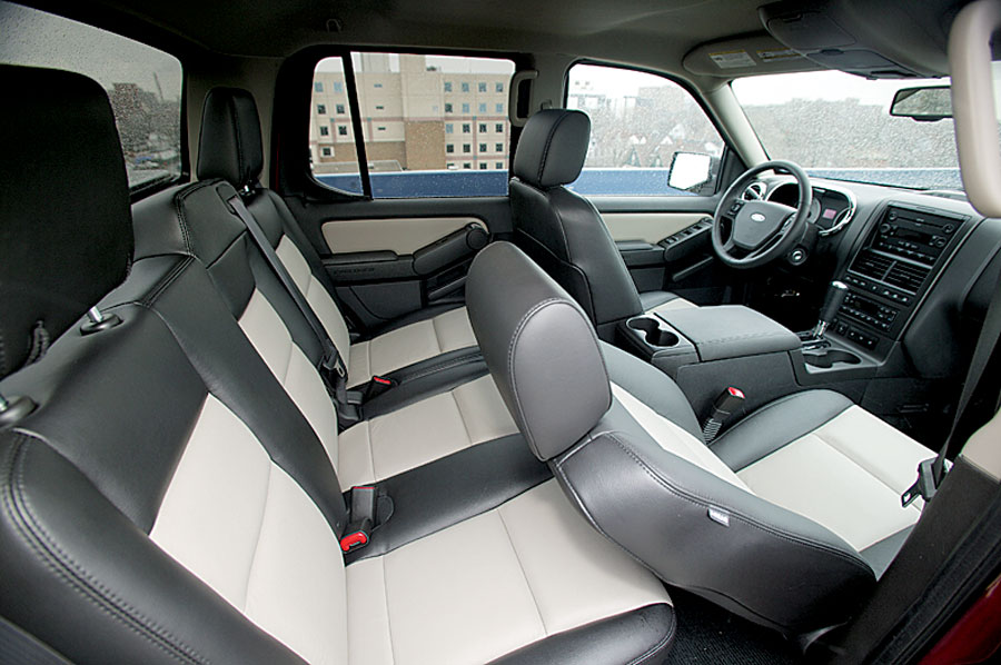 2007 ford explorer sport trac truck review road test - Ford explorer sport trac interior ...