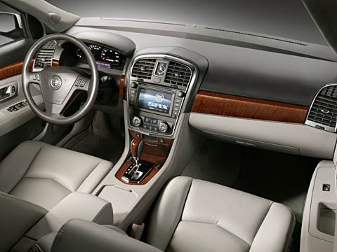 2007 Cadillac Srx Finally A New Interior Latest Auto