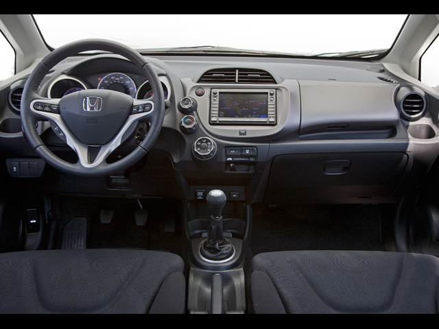 Z Honda Fit Sport Interior View on 2008 Chevrolet Blazer