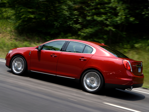 2009 Lincoln MKS AWD - Lincoln Fullsize Sedan Review ...