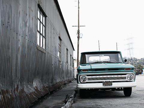 1960-1966 Chevrolet Pickup Truck - Classic Chevy Truck - Automobile