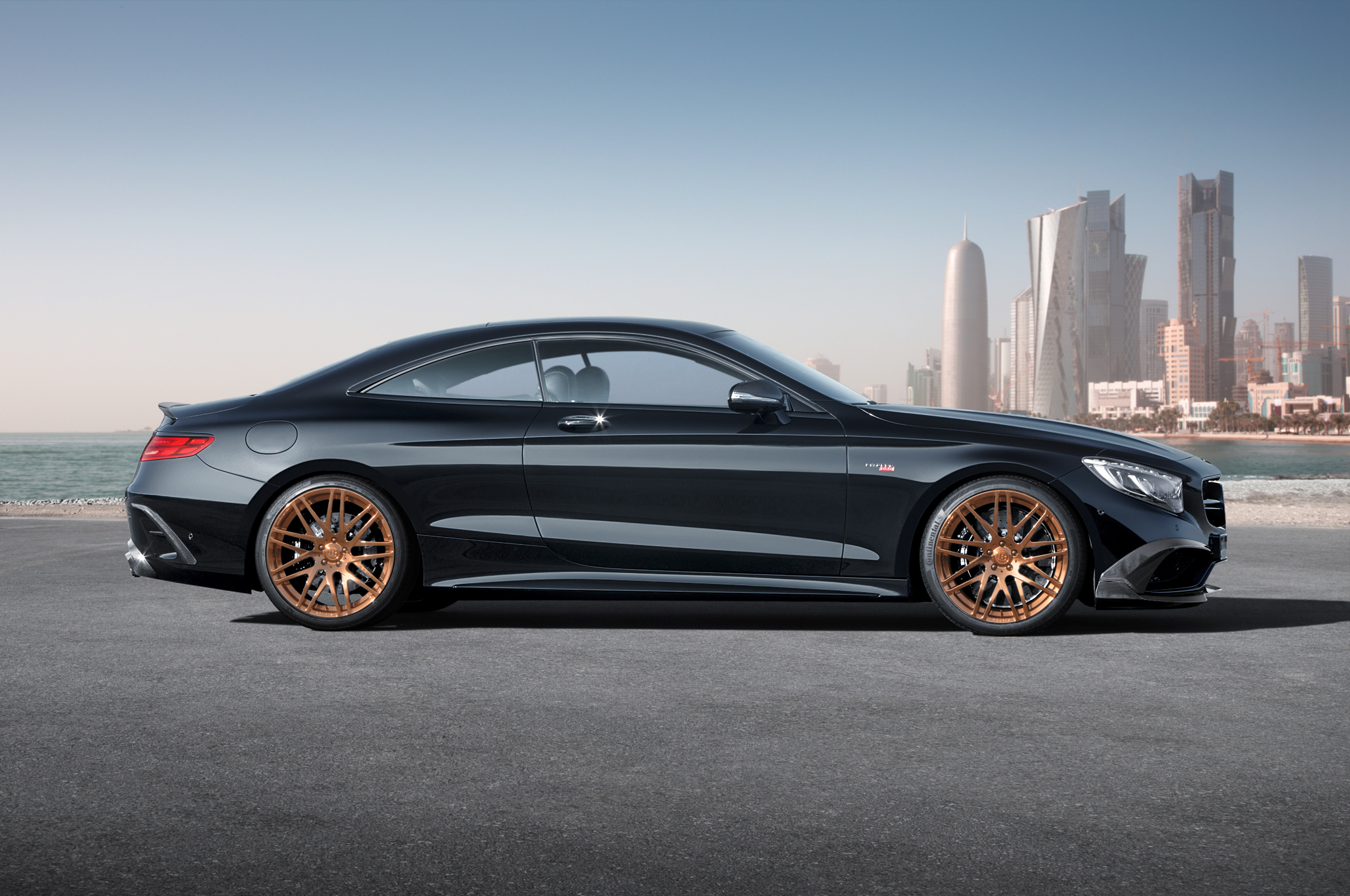 Brabus Gives The Mercedes Benz S63 Amg Coupe 850 Hp