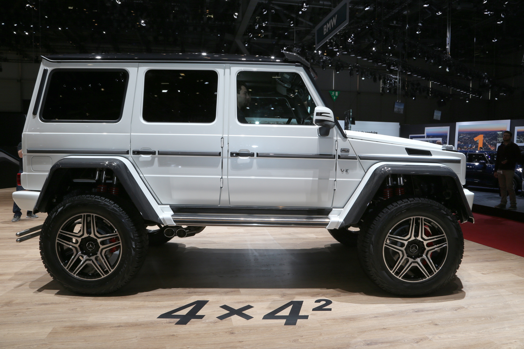 Mercedes Benz G500 4x4 Squared Detailed Ahead Of Geneva Debut