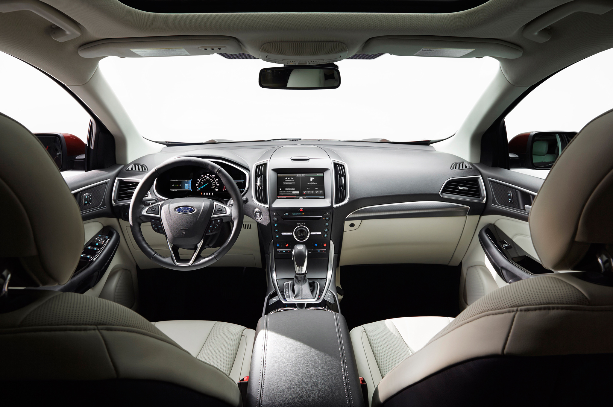 Ford Edge Review Rh Automobilemag Com  Ford Edge Specs Canada  Ford Edge Sel Awd Specs