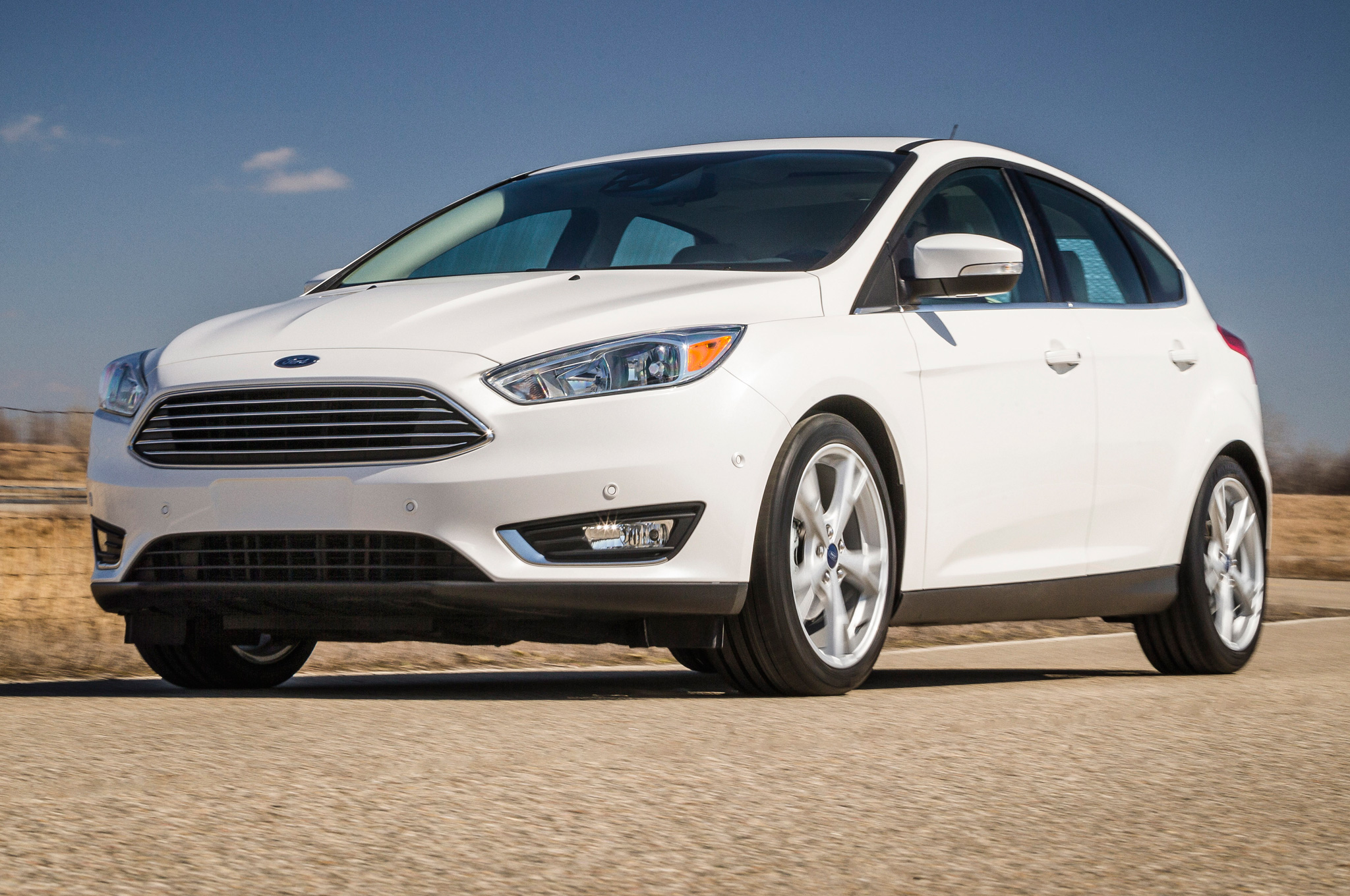 For style, think small. The 2015 Ford Focus ...