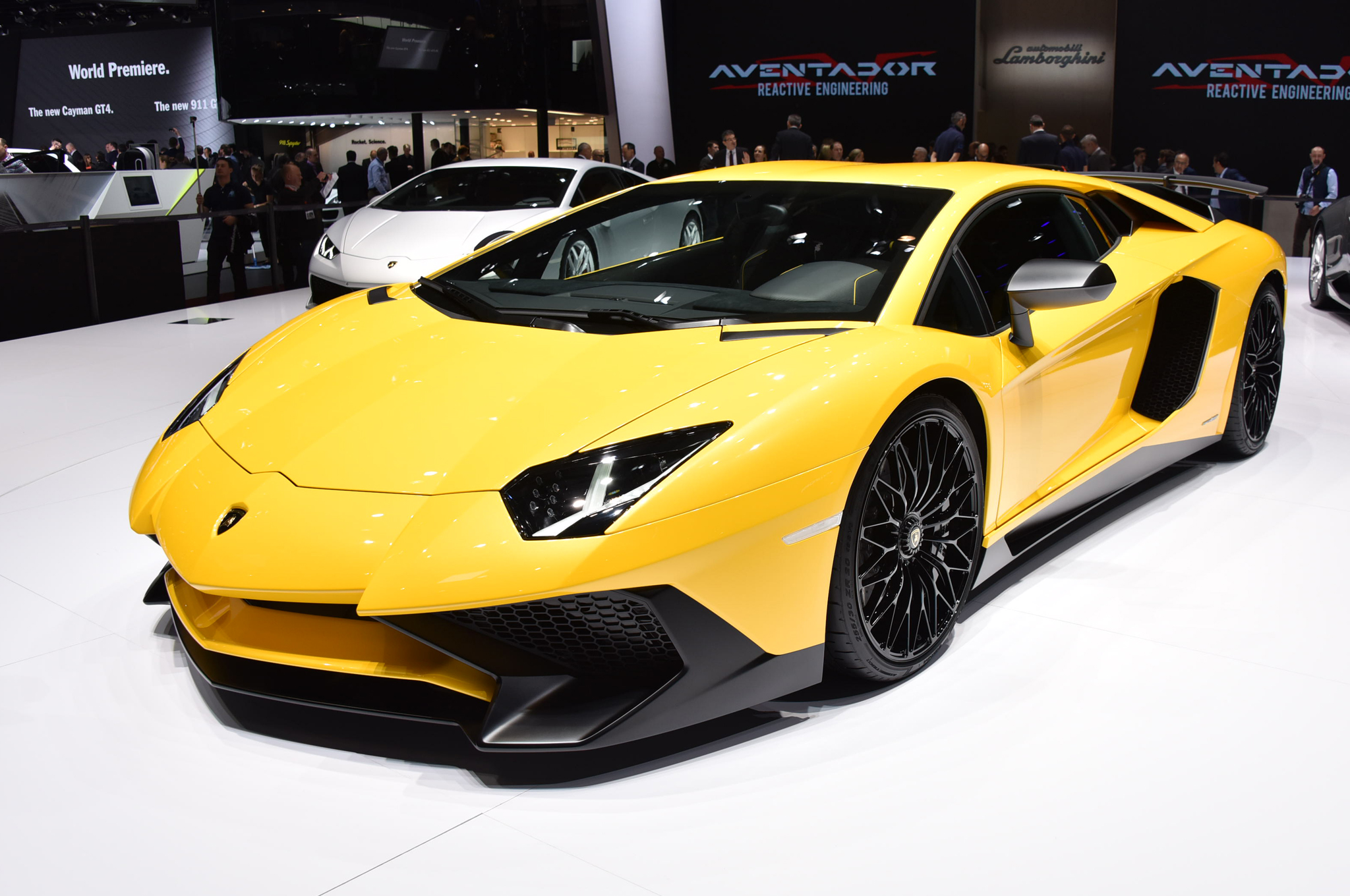 2016 lamborghini aventador lp750-4 sv starts at $493,095 in the u.s.